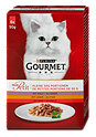 Gourmet mon Petit Katzenfutter mit Wild, Leber & Rind