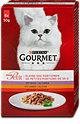 Gourmet mon Petit Katzenfutter Wild-, Leber- & Rindvariation