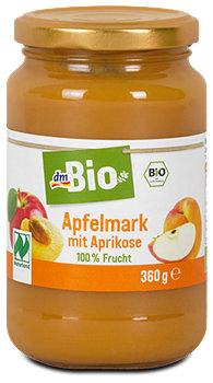 dmBio Apfelmark mit Aprikose