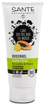 Sante Lemon Fresh Duschgel Bio-Lemon & Papaya
