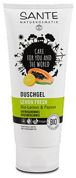 Sante Lemon Fresh Duschgel Bio-Lemon & Papaya