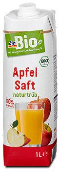 dmBio Apfelsaft naturtrüb