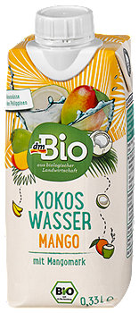 dmBio Kokos Wasser Mango