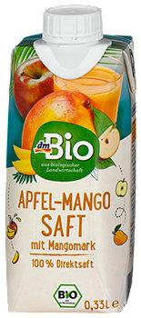 dmBio Apfel-Mango Saft