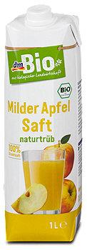 dmBio milder Apfelsaft naturtrüb