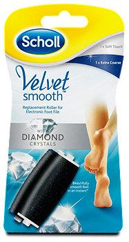 Scholl Velvet smooth Ersatzrollen (extra stark & fein)