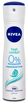 Nivea fresh comfort Deospray