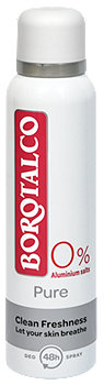 Borotalco Deo Spray Pure