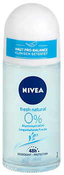 Nivea Deo Roll-On fresh natural