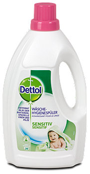 Dettol Wäsche-Hygienespüler Sensitive