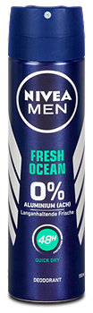 Nivea Men Fresh Ocean Deospray