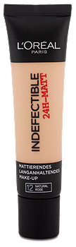 L'Oréal Indefectible 24H-Matt Make-Up