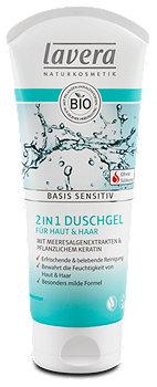 lavera Basis Sensitiv 2in1 Duschgel für Haut und Haar
