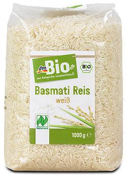 dmBio Basmati Reis weiß