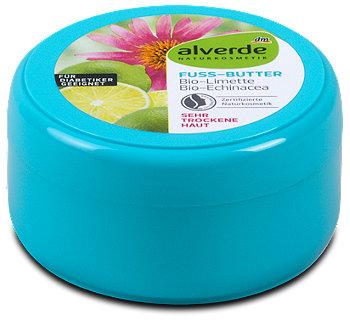 alverde Fußbutter Bio-Limette Bio-Echinacea