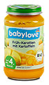 babylove Babybrei Früh-Karotten mit Kartoffeln