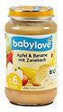 babylove Fruchtbrei Apfel & Banane mit Zwieback
