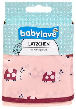 babylove Lätzchen mit Auffangschutz sort.