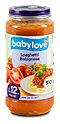 babylove Menü Spaghetti Bolognese