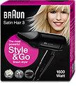 Braun Satin Hair 3 HD 350 Style & Go Haartrockner