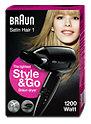 Braun Satin Hair 1 HD 130 Style & Go Haartrockner