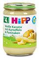 Hipp Babybrei Weiße Karotte mit Kartoffeln und Pastinaken