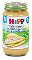 Hipp Menü weiße Karotte mit Rahmgemüse und Bio-Hühnchen