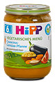 Hipp Vegetarisches Menü Couscous-Gemüse Pfanne