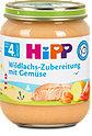 Hipp Menü Wildlachs-Zubereitung mit Gemüse