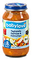 babylove Menü Tagliatelle Gemüse & Hühnchen