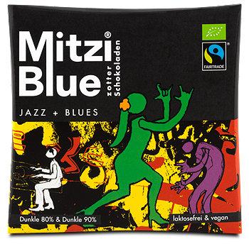 Zotter Mitzi Blue Jazz + Blues Schokolade