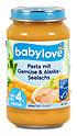 babylove Menü Pasta mit Gemüse & Lachs