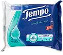 Tempo sanft & pur feuchte Toilettentücher Frische