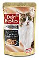 Dein Bestes Katzenfutter Lachs an Rahmspinatsauce Beutel
