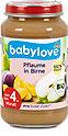 babylove Fruchtbrei Pflaume mit Birne
