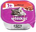 whiskas 1+Jahre Katzenfutter mit Rind