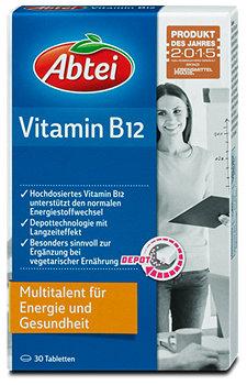 Abtei Vitamin B12 Energie und Gesundheit Tabletten