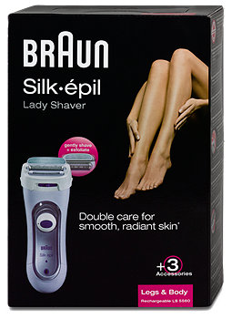 Braun Silk-épil Lady Shaver Rasierer