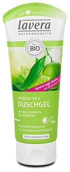 lavera Frische-Kick Duschgel Limone&Eisenkraut