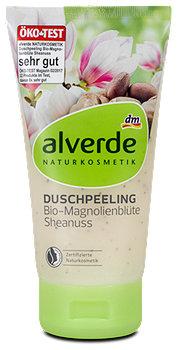 alverde Duschpeeling Bio-Magnolienblüte & Sheanuss