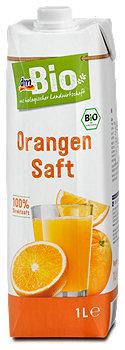 dmBio Orangensaft