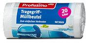 Profissimo Tragegriff-Müllbeutel 20 Liter