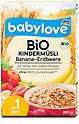 babylove Bio-Kindermüsli Banane-Erdbeere