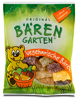 Original Bärengarten Fruchtgummis vegetarische Bären