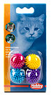 Nobby Igelball 4er Pack Katzenspielzeug