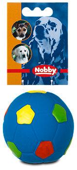 Nobby Latex Quietsch-Fußball sort.
