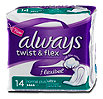 always twist & flex Binde mit Flügel normal plus ultra