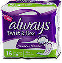 always twist & flex Binde normal ultra flexibel