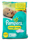 Pampers change mats Super Saugfähige Wickelunterlage