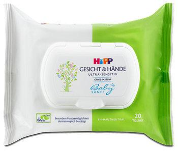 Hipp Babysanft Gesicht & Hände Feuchtigkeitstücher